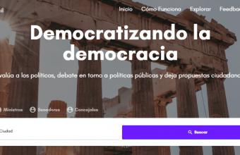Alumno de Periodismo triunfa en concurso de innovación con plataforma para evaluar a los políticos