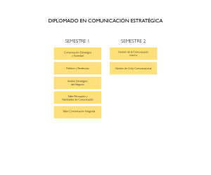 Malla diplomado comunicación estratégica 2018