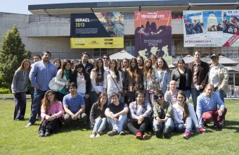 Alumnos de Santiago y Concepción trabajan en proyecto multimedia