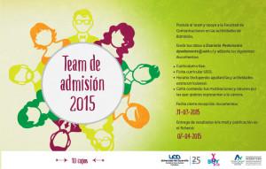 Team Admisión 2015