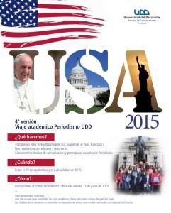 AFICHE VIAJE USA 2015