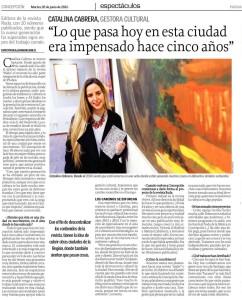 CataCabrera El Sur 28 junio 2016