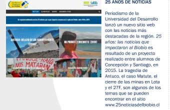 25 AÑOS DE NOTICIAS, TELL MAGAZINE