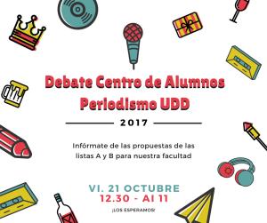 Debate Centro de AlumnosPeriodismo UDD