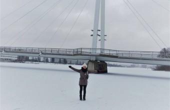 Alumna de tercer año vive intercambio en Finlandia