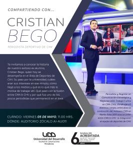 Compartiendo con Cristian Bego