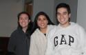 Camila Navarro, Florencia Ortiz y Yerum Cid