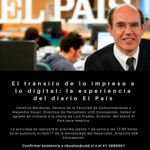 Invitación Director El País