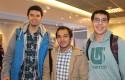 Felipe Reyes, Fabián Barría y Carlos Sánchez