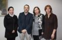Isabel Plaza, Fernando Gutiérrez, Sonia Mendoza y Mariela Oyarzo