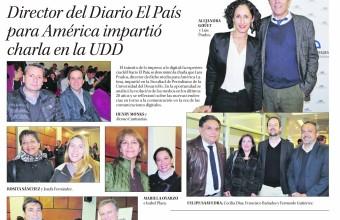 DIRECTOR DEL DIARIO EL PAÍS PARA AMÉRICA IMPARTIÓ CHARLA EN LA UDD
