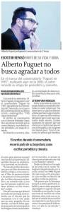 Alberto Fuguet no busca agradar a todos_Diario El Sur_4 de noviembre de 2017