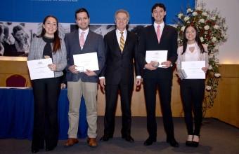 Premiación año académico 2017