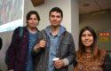 Mauricio Mardones, Felipe Reyes y Josefa Estrada