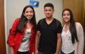 Paulina Contretas, Cristóbal Fuentes y Catalina Ferrada
