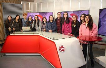 Alumnos de primero visitaron medios y empresas del Gran Concepción