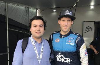 Alumno de Periodismo trabajó en el equipo de prensa del Rally Mundial 2019