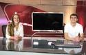 Alumnos en visita a TVN