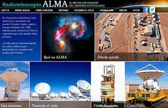 Egresados UDD y docente reciben premio por especial multimedia del Radiotelescopio ALMA