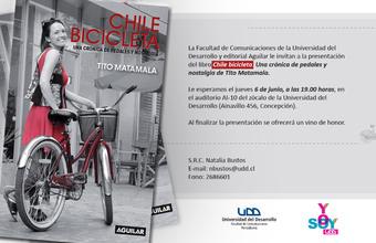 LANZAMIENTO LIBRO CHILE BICICLETA