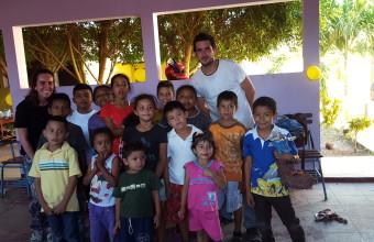 Periodista UDD realizó voluntariado en Nicaragua