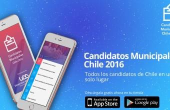 UDD lanza aplicación móvil de candidatos municipales