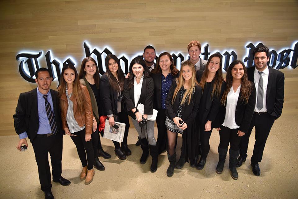 Desde Estados Unidos: Cobertura especial de alumnos de Periodismo UDD