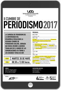 Invitación Cumbre Periodismo 2017