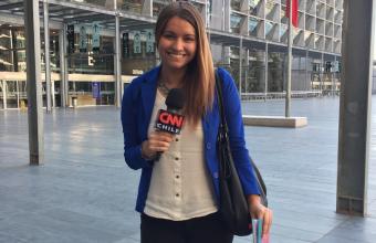 """""""CNN me da la posibilidad de trabajar de la misma manera que lo hace un periodista"""""""
