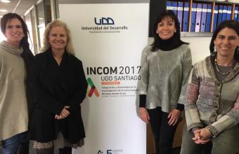 Profesores de la Facultad de Comunicaciones UDD participarán en INCOM 2017