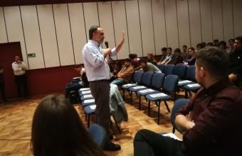 Facultad de Comunicaciones UDD dio inicio al crowdfunding con Hogar de Cristo