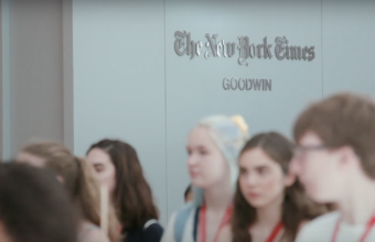 Vive una experiencia global: The School of The New York Times