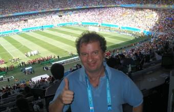 """Diego Borinsky, el crack que viene al foro """"Rusia 2018: el fútbol que veremos"""""""