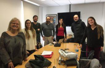 Alumnas de Periodismo UDD participan en investigación sobre el tema mapuche en la prensa