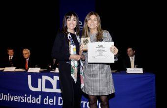 Karim Gálvez fue reconocida como Profesora de Excelencia 2018