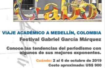 Inscripciones abiertas para asistir al Festival Gabriel García Márquez