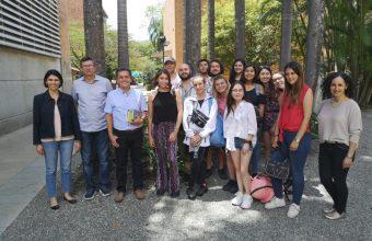 Viaje Académico 2019: estudiantes de Periodismo en Festival Gabo