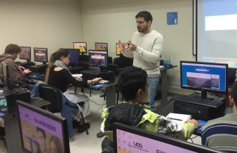 """Max Valdés: """"Nuestros alumnos están muy preparados para llevar a cabo proyectos digitales"""""""