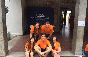 Estudiantes de Periodismo y Publicidad vivieron Sonríe UDD