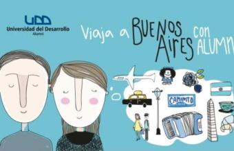 Inscríbete en Alumni y participa por un fin de semana en Buenos Aires