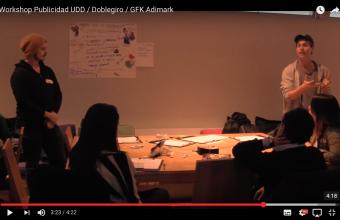 Así fue el Workshop de Publicidad UDD, Doblegiro y GFK Adimark