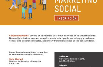 Sergio Gamboa es parte de Seminario sobre el aporte y alcance del marketing social